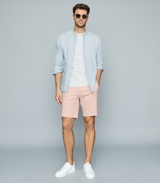 Reiss Wicket - Casual Chino Shorts in Pink