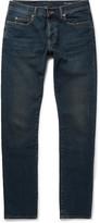Saint Laurent - Skinny-fit 17cm Hem Distressed Stretch-denim Jeans