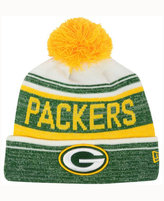 New Era Green Bay Packers Snow Dayz Knit Hat, A Macy's Exclusive Style