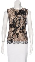 Kaufman Franco Kaufmanfranco Sleeveless Lace Top