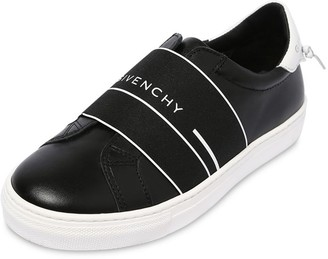 Givenchy Slip-on Leather Sneakers