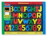 Melissa & Doug Magnetic Chalkboard and Dry-Erase Board With 36 MagnetsChalkEraserand Dry-Erase Pen