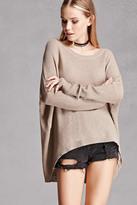 Forever 21 FOREVER 21+ Oversized Dolman Sweater