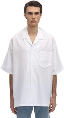 Maison Margiela Kimono S/s Cotton Shirt