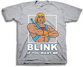 Novelty T-Shirts He-Man Ripped Short-Sleeve Tee