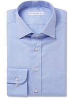 Etro - Blue Printed Cotton Shirt