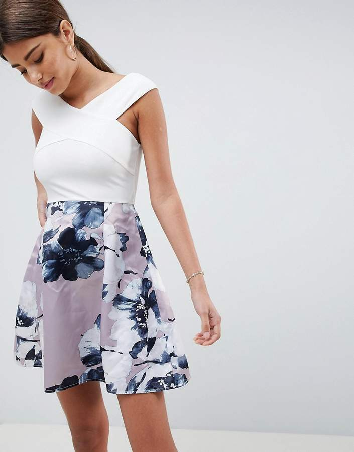 AX Paris Two In One Floral Skirt Dress