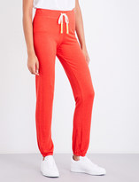 Sundry Slim-fit mid-rise jersey jogging bottoms