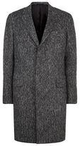 Lanvin Alpaca Blend Herringbone Coat