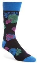 Bugatchi Men's Flower Power Socks