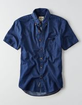 American Eagle AEO Print Short Sleeve Shirt