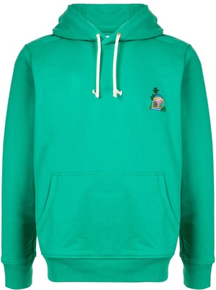 Casablanca Embroidered Patch Hoodie