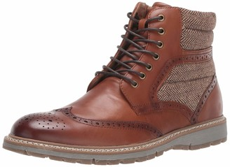 Stacy Adams Men's Granger Wingtip Lace-Up Boot Fashion