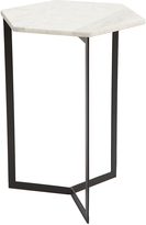 ZUO Black & White Rhys Accent Table