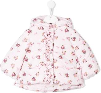 MonnaLisa floral padded jacket