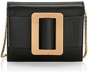 Boyy Buckle Leather Wallet-On-Chain