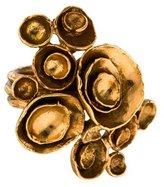 Saint Laurent Arty Floral Ring