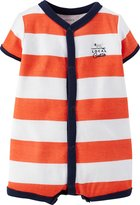 Carter's Baby Boys' Striped Romper (Baby)