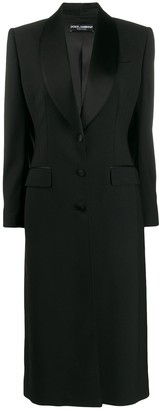 Dolce & Gabbana Tailored Shawl Lapel Coat
