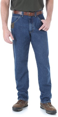 Riggs Workwear Wrangler Men's Big and Tall Big & Tall Cool Vantage Five Pocket Jean