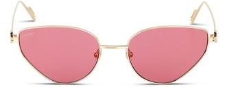 Cartier Cat Eye Frame Sunglasses