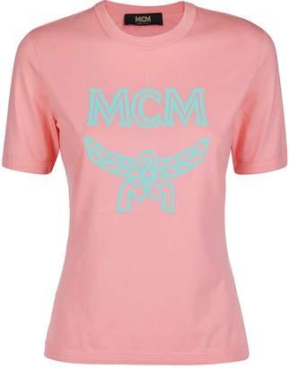 MCM Pink Cotton T-shirt