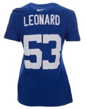 Nike Indianapolis Colts Darius Leonard Women's Player Pride T-Shirt