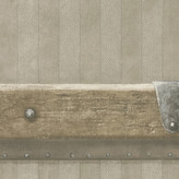 Andrew Martin Steamer Wallpaper - Leather