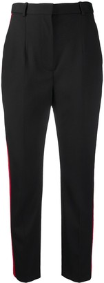 Alexander McQueen Side-Panel Tailored Trousers