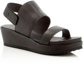 Eileen Fisher Rich Strappy Platform Sandals
