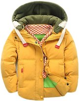 LOVEBEAUTY Little Boys' Hooded Puffer Jacket Down Coat