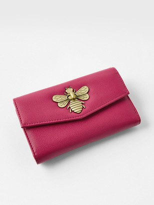 Accessorize Britney Bee Wallet - Pink