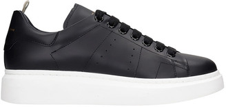 Officine Creative Krace 007 Sneakers In Black Leather