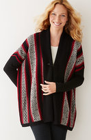 J. Jill Blanket-Stitch Cardigan
