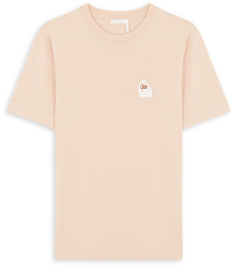Chloé Blue mini logo t-shirt