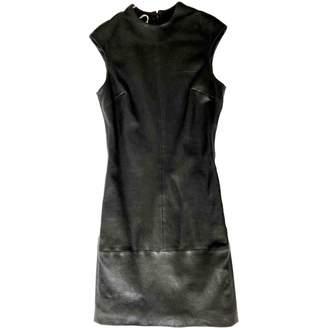 Jil Sander Black Leather Dress for Women