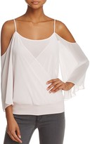 Bailey 44 Tombe Cold-Shoulder Crossover Top