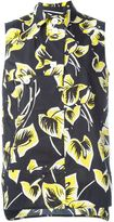 Marni sleeveless floral print blouse - women - Cotton - 42
