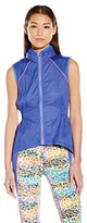 Juicy Couture Black Label Women's Crinkle Nylon Running Vest