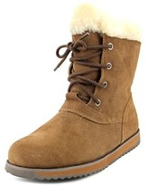 Emu Shaw Lo Women Round Toe Leather Brown Winter Boot.