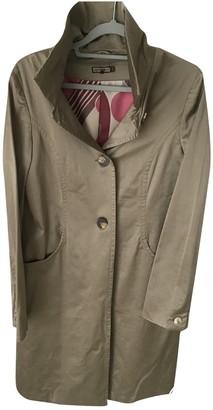 Maliparmi Khaki Cotton Trench coats