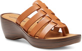 Eastland Women's Sandals TAN - Tan Topaz Leather Heeled Sandal - Women