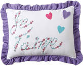 VCNY Amanda Oblong Embroidered Decorative Pillow