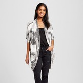 Necessary Objects Women's Printed Knit Cocoon Cardigan Multi