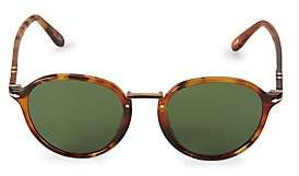 Persol Men's 51MM Havana Wayfarer Sunglasses