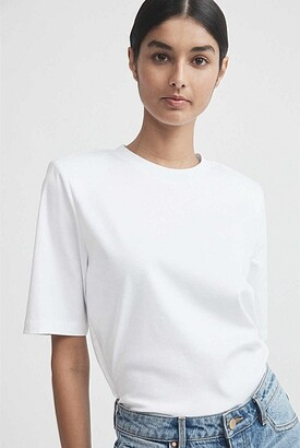 Witchery Shoulder Pad Tee