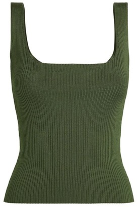 Sandro Paris Rib-Knit Camisole Top