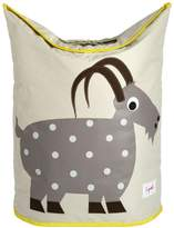 3 Sprouts Laundry Hamper, Goat, Grey