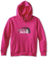 The North Face Kids - Girls' Multi Half Dome Pullover Hoodie (Little Kids/Big Kids) (Passion Pink) - Apparel