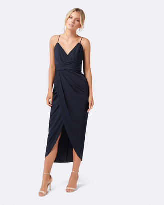 Forever New Charlotte Drape Maxi Dress